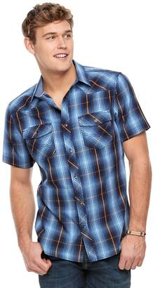 Rock & Republic Men's Plaid Button-Down Shirt