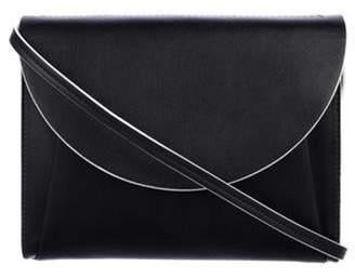 Marni Leather Crossbody Bag Black Leather Crossbody Bag