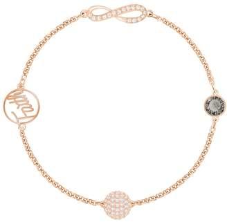Swarovski Remix Collection Rose Gold & Crystal Faith Bracelet 5365734
