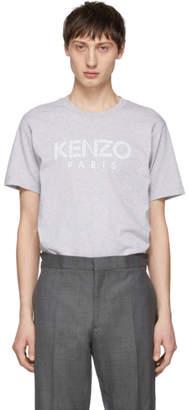 Kenzo Grey Paris Logo T-Shirt