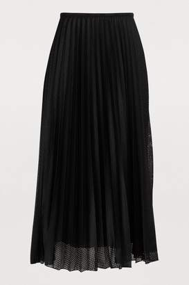 Moncler Pleated midi skirt