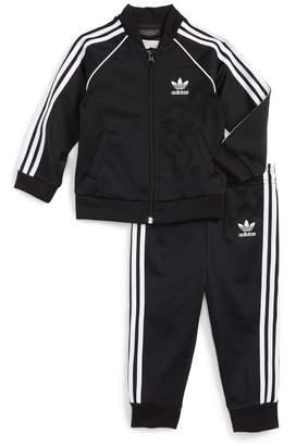adidas Track Jacket & Athletic Pants Set