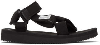 Suicoke Black Depa Sandals