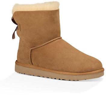 UGGUgg Mini Bailey Bow Sheepskin Boots