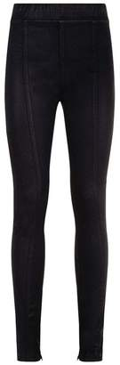 Helmut Lang Skinny Coated Trousers