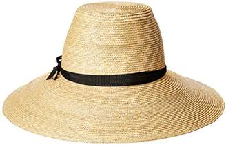 Gottex Women's Cote D' Azur Fine Milan Straw Hat with Rated Upf 50+ $13.27 thestylecure.com