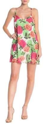Show Me Your Mumu Printed Crisscross Dress