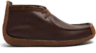 Lemaire X Clarks Redland leather desert boots