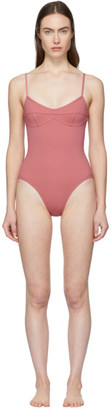Her Line Pink Sabine One-Piece Swimsuit