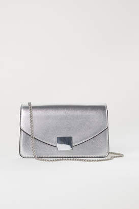 H&M Clutch Bag - Silver