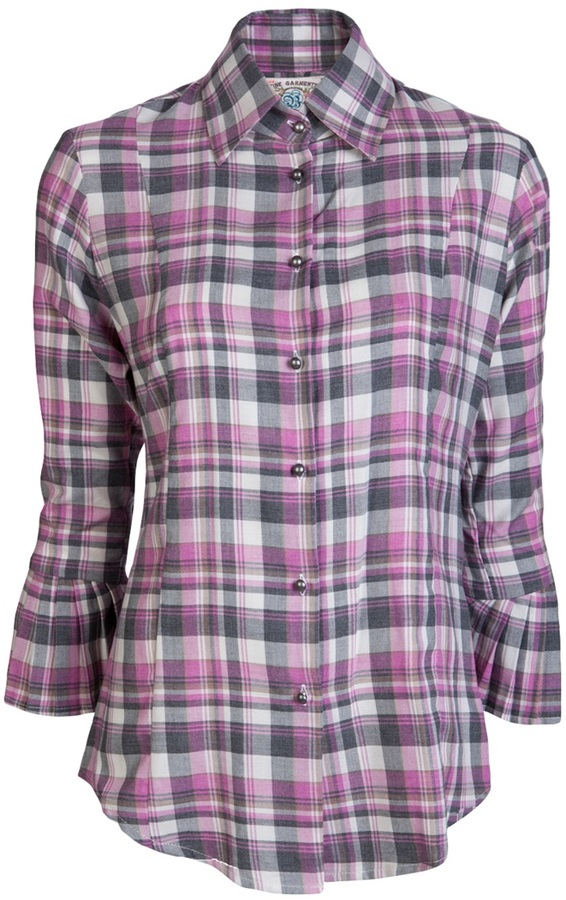 Alicia Bell Flannel plaid shirt