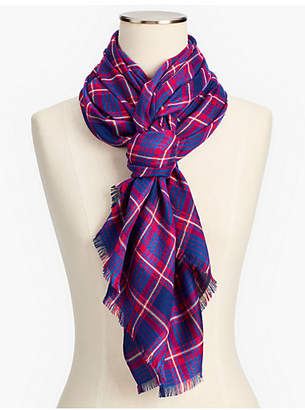 Talbots Bias Plaid Scarf