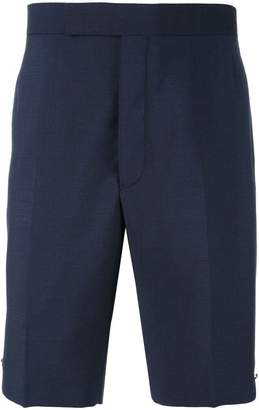 Thom Browne button detail tailored shorts