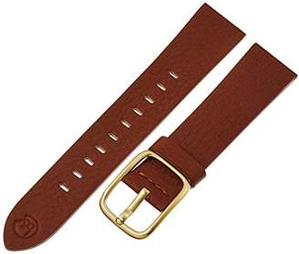 b&nd by Hadley Roma with MODE20mm Leather Calfskin Brown Watch Strap
