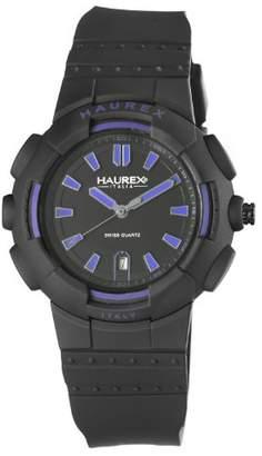 Haurex Italy Men's 2P504UBN Tremor Plastic Case Rubber Strap Date Watch