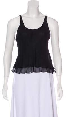 Armani Collezioni Sleeveless Silk Top