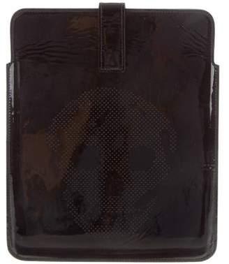 Alexander McQueen Patent Leather iPad Case