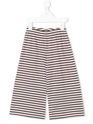 Il Gufo cropped stripe culottes