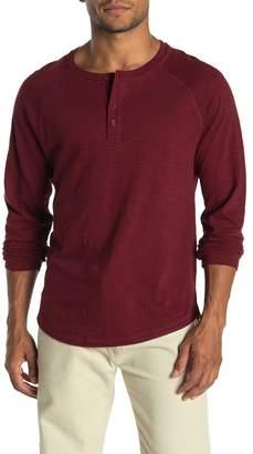 Vince Heavy Slub Henley Shirt
