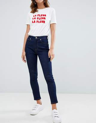 French Connection Authentic high rise skinny jeans