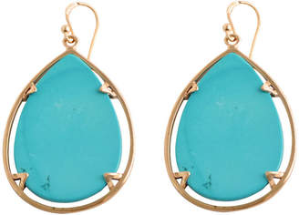 Artsmith BY BARSE Art Smith by BARSE Blue Magnesite Large Teardrop Earrings