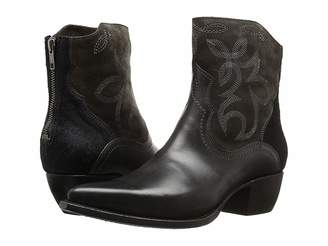 Frye Shane Embroidered Short Cowboy Boots