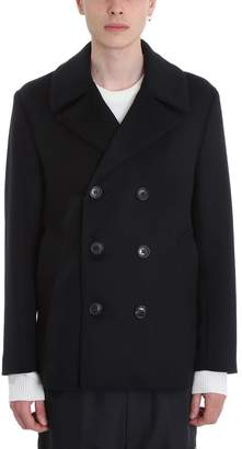 MACKINTOSH Black Wool Coat
