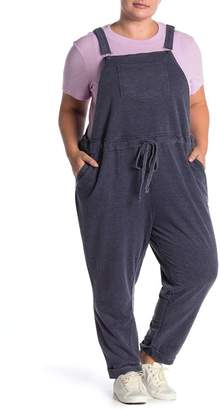C&C California French Terry Knit Overalls (Plus Size)