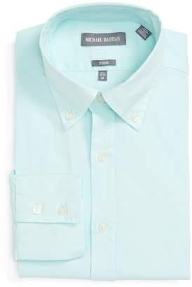 Michael Bastian Oxford Trim Fit Dress Shirt