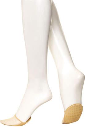 Hue Women's Sheer Toe-Cover Liner Socks
