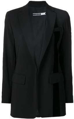 Sportmax Code stripe detail blazer