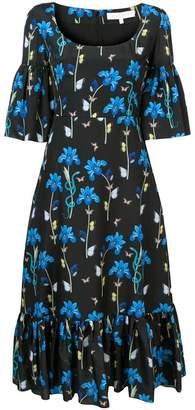 Borgo De Nor Iris Printed Round Neck Dress