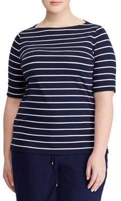 Lauren Ralph Lauren Blue Plus Size Tops ShopStyle