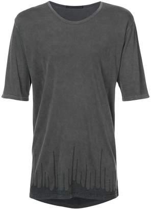 The Viridi-anne printed hem T-shirt