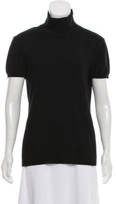Valentino Short Sleeve Turtle Neck Sweater