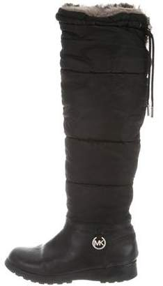 Michael Kors Padded Knee-High Boots