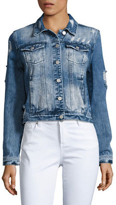 Buffalo David Bitton Distressed Denim Jacket $99 thestylecure.com