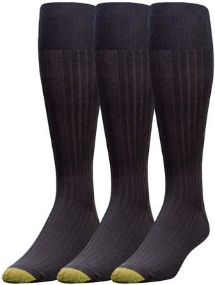 Gold Toe Men's Canterbury Extended Sock, 3 Pack