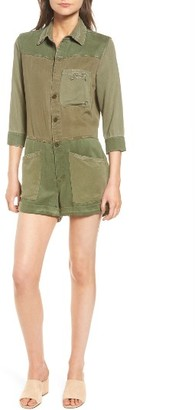 Women's Hudson Jeans Izzy Utility Romper $295 thestylecure.com