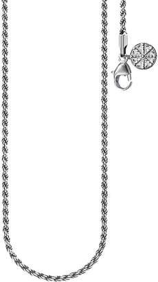 Thomas Sabo Karma Wheel sterling silver necklace