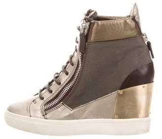 Giuseppe Zanotti Lorenz 75 Patchwork Sneakers