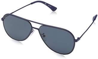 Police Men's Spl365 Polarized Square Sunglasses