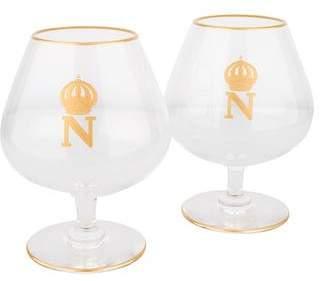 Saint Louis Saint-Louis Pair of Crystal Napoleon Brandy Snifters