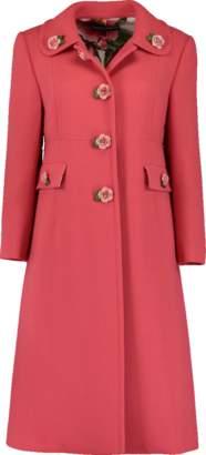 Dolce & Gabbana Wool Crepe Coat