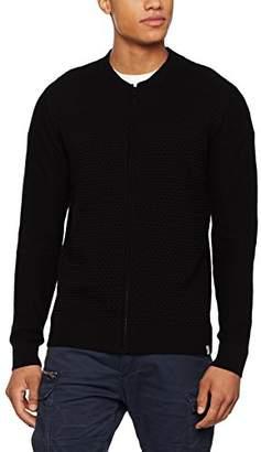 ... Jack and Jones Men's Jcostructure Knit Cardigan