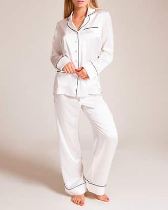 Hanson Olivia Von Halle Coco Silk Pajama