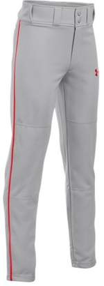 Under Armour Boys' UA Clean Up Piped Baseball Pants
