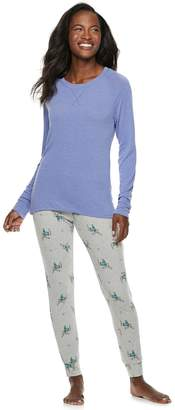 8b36ae3718 Sonoma Goods For Life Women s SONOMA Goods for Life 2-piece Raglan Tee    Pants
