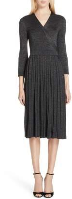 Kate Spade metallic sweater dress