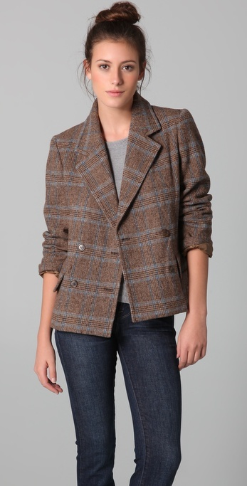 Marc By Marc Jacobs Beatrice Tweed Jacket